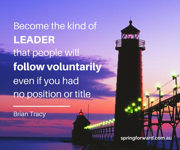 Inspirational Leadership – Spring Forward